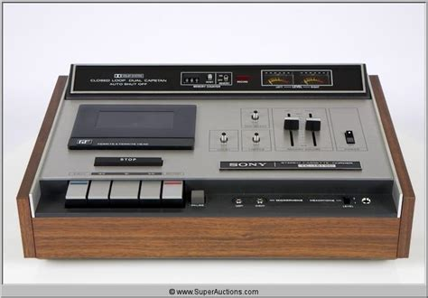 deck sony sony and pioneer cassette deck