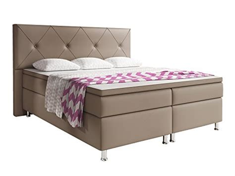 bett 60 x 180 inter new 1657 boxspringbett lederimitat muddy 200 x