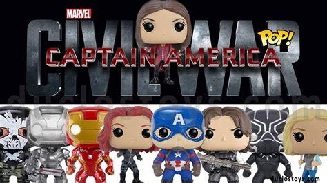 Funko Pop 13 Civil War 131 duclos toys figures collectibles toys 187 funko pop marvel captain america