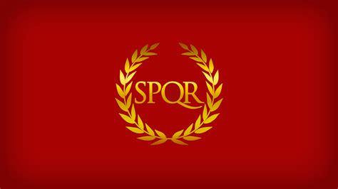 ancient roman empire flag roman empire wallpaper
