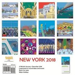 Calendar 2018 New York New York Schafbuch 2018 Wall Calendar 9781942402428