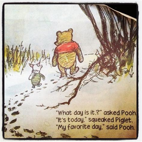 day what is it about winnie the pooh my favorite day
