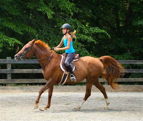 commercial girl riding horse july 2013 c friendship residential summer c in