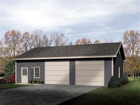 car garage design 2 car tandem garage plans images