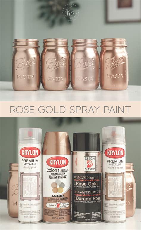 gold spray paint ka styles