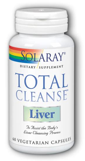 Vitamin C Detox Directions by Total Cleanse Liver 60 Vcaps Made By Solaray