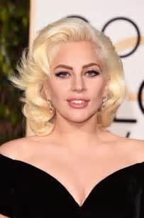 Lada Gaga Gaga S Golden Globes Makeup 2016 Popsugar