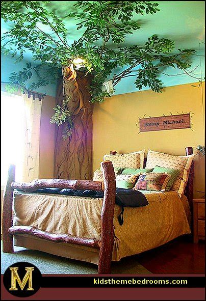 Outdoor Themed Bedroom | decorating theme bedrooms maries manor treehouse theme