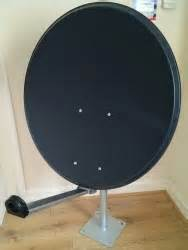 systemsat 85cm mix digital premium trx satellite dish pole mount fittings 85cm