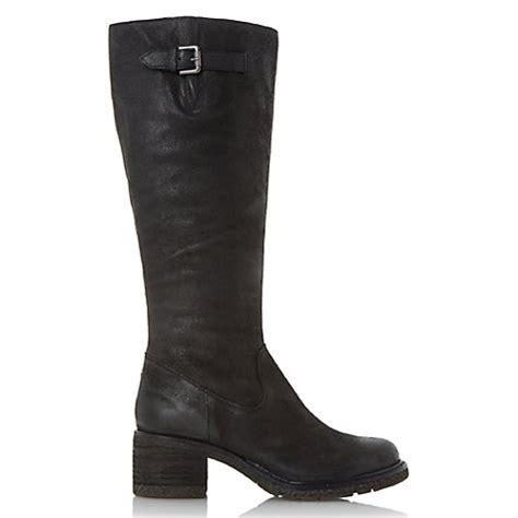 buy dune tedmund knee high boots lewis