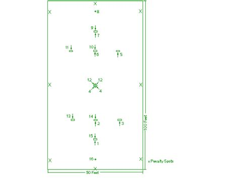 layout for croquet game ky state clay court rules