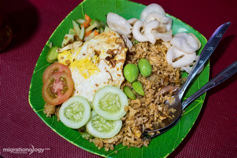 nasi goreng petai stink bean fried rice  mangga besar