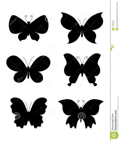 imagenes de mariposas siluetas silueta de la mariposa de las mariposas imagen de archivo