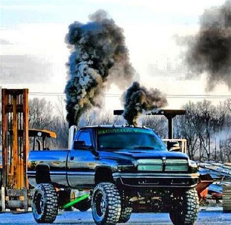 cummins charger rollin coal black second dodge cummins diesel roll coal
