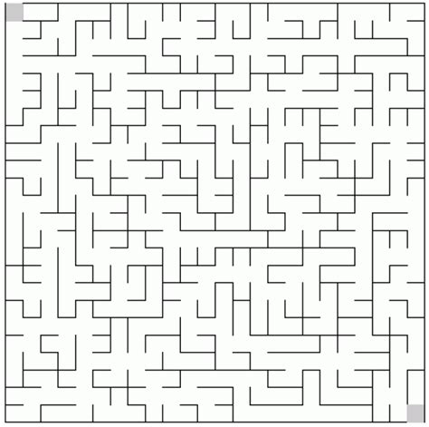 printable mazes intermediate mazes to print