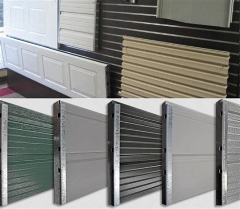 Door Panel Repair by Garage Door Panel Replacement A Step Installation