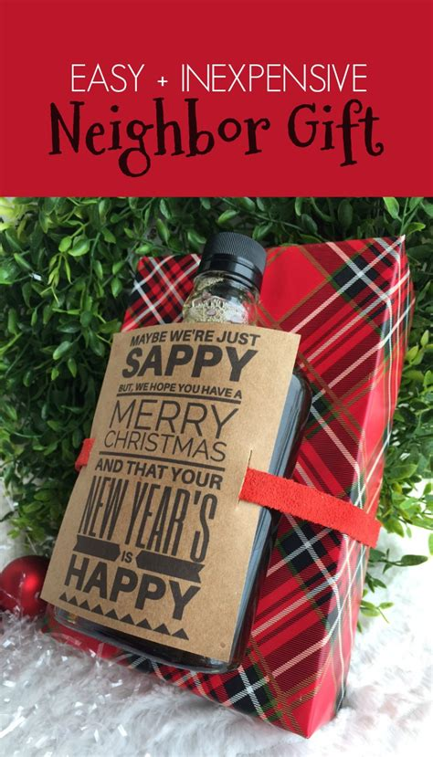 six sisters neighbor gifts easy inexpensive gift rad the rest
