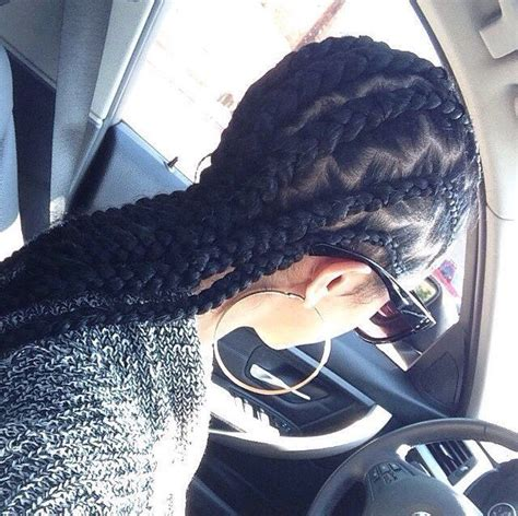 weave braided tracks zigzag tracks large cornrows nice hair don t cuur