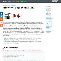 jinja templates python flask web mapping pearltrees