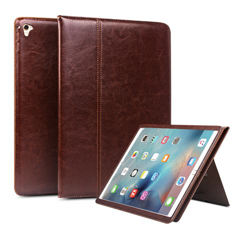 Flip Cover For Pro 12 9 qialino genuine leather for pro 12 9 flip