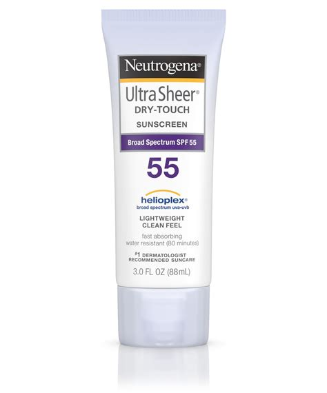 Neutrogena Ultra Sheer Touch Sunblock Spf 50 1 ultra sheer 174 touch sunscreen lotion spf 55 neutrogena 174