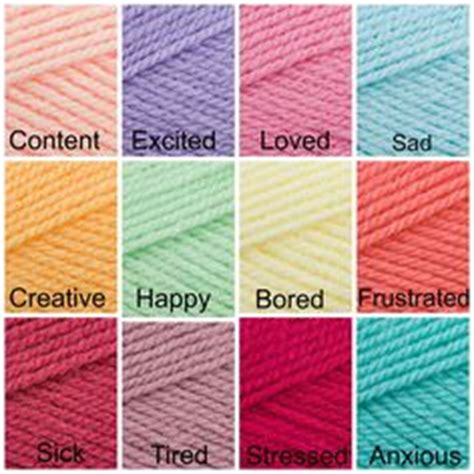mood color chart crochet tips pinterest mood colors a block stitch temperature mood blanket scarf the 8th gem