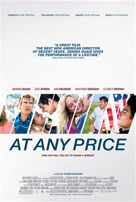At Any Price at any price review summary 2012 roger ebert