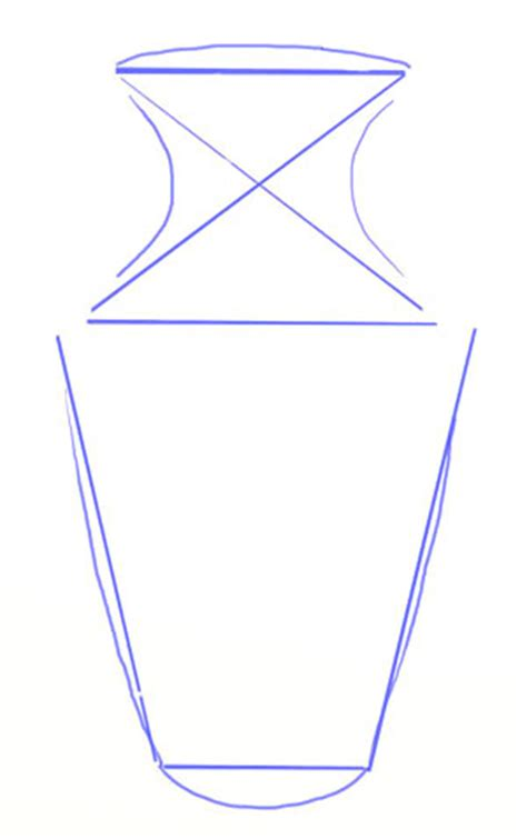 Vase Drawing For by How To Draw A Vase Yedraw