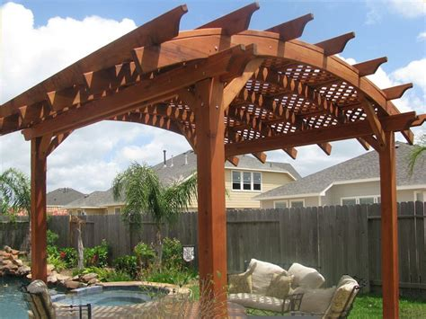 curved pergola kits arched pergolas