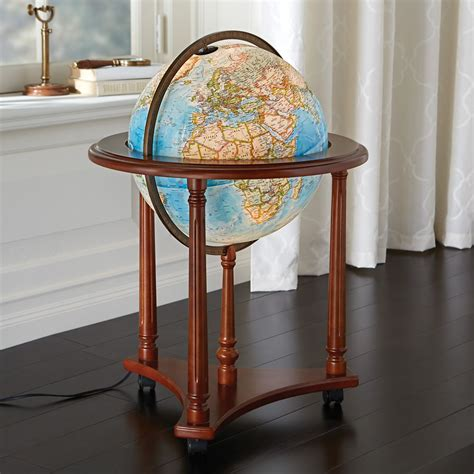 antique light up globe national geographic atlas of the world 10th edition