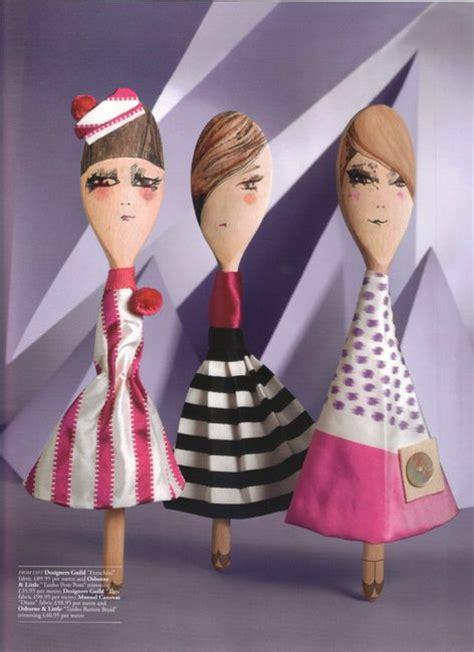 Sendok Dan Garpu Doll wooden spoon catwalk 171 abigail edwards cucharita y otros amigos catwalks