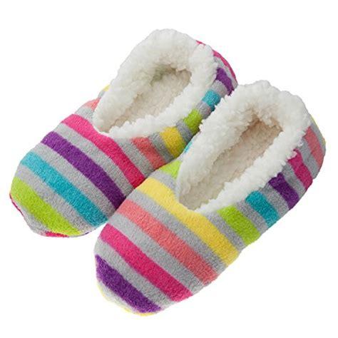 fuzzy slipper booties 4pk s warm cozy fuzzy slippers non slip lined