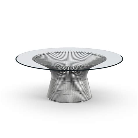 polished nickel table l buy the knoll platner coffee table polished nickel
