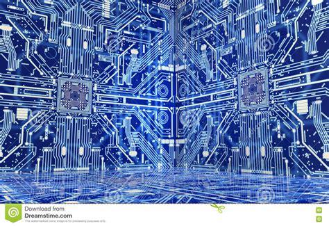 computer interno l interno di un computer o di un ambiente elettronico