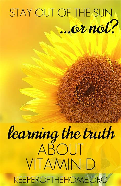 sun ls for vitamin d learning the truth about vitamin d vitamins