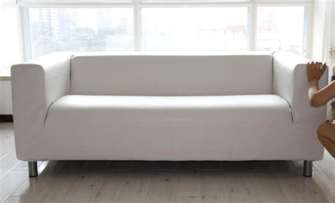 Klippan Sofa Bed Leather Slipcover For Ikea Klippan Sofa Comfort Works
