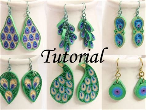 How To Make Your Own Quilling Paper - pdf tutorial make your own peacock inspired paper