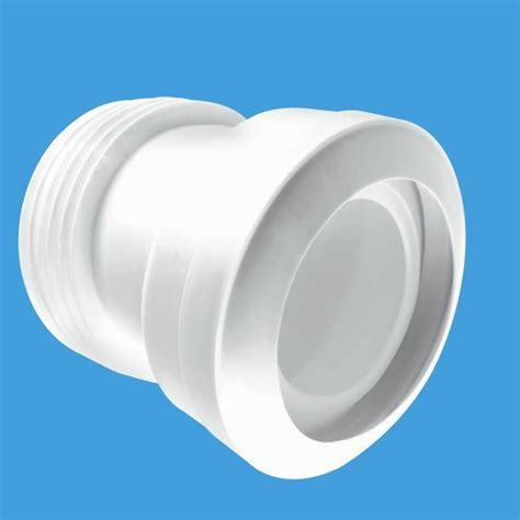 McAlpine 14° Angled Old Style Toilet Pan Connector