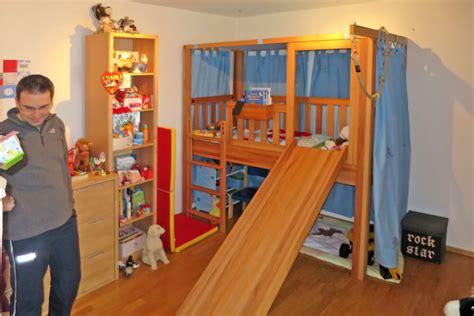 kinderrutsche für innen wohnzimmer farben lila