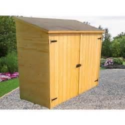 abri de jardin mural en bois grand volume avec 233 tag 232 re de