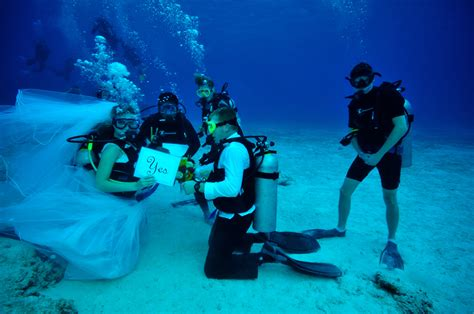 House Of Scuba by Say Quot I Do Quot 80 Underwater With Presidente