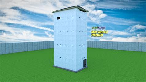 desain rumah walet   lantai  rumah monyet premium