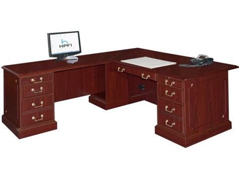 bedford l shaped office desk l return large bed 3048l - Large L Shaped Office Desk