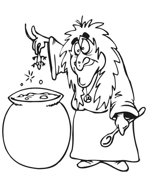 witch cauldron coloring page witch coloring pages free printables for kids