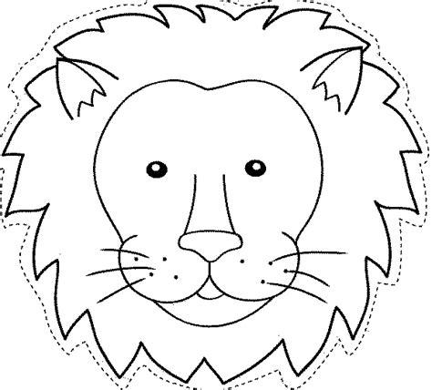 maestra de infantil animales salvajes para colorear maestra de infantil caretas de animales para colorear e