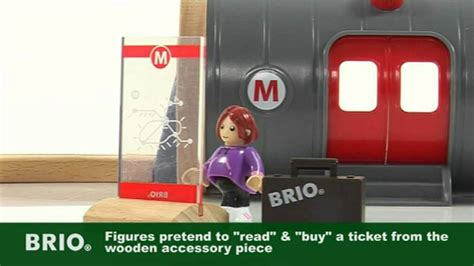 brio subway train brio metro railway set 33513 youtube