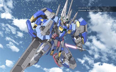 wallpaper robot gundam gundam 00 image gundam avalanche exia sky wallpaper