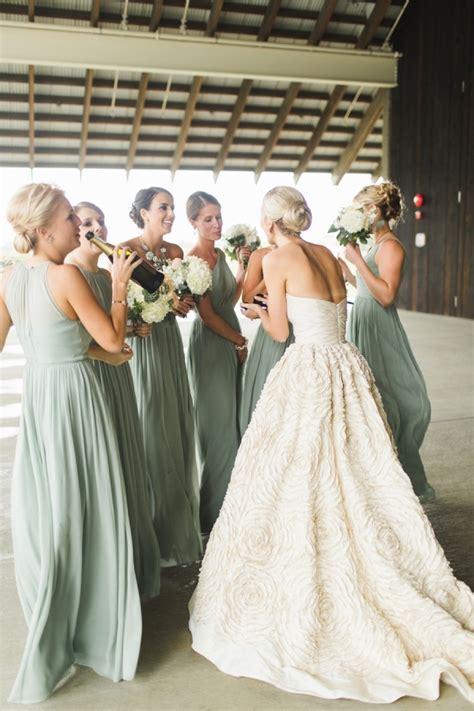 light green bridesmaid dresses light green celadon mint bridesmaid dresses