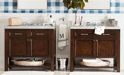 pottery barn bathroom ideas bathroom vanity ideas how to a bathroom vanity