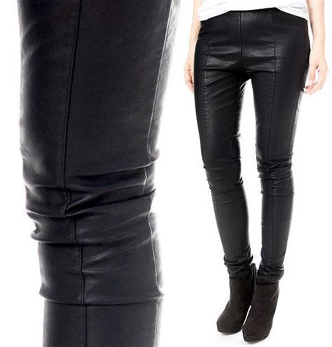 Diskon Top Slim Legging Original windproof thermal centerline stretch vegan faux leather slim